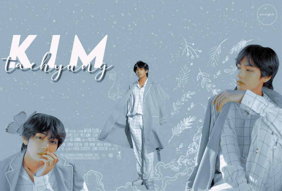 [💙🐯🌈] Finally Hope you like it!        #kimtaehyung #taehyungedit #btsv #btsedit #bts #kpop #kpopedit #aesthetic   #freetoedit