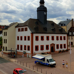 house townhall tower clock clocktower