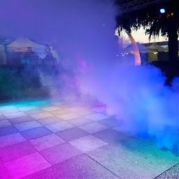 seenachtsfest dancefloor lights lightseffect smoke