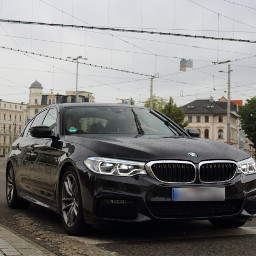 bmw black leipzig car schwarz