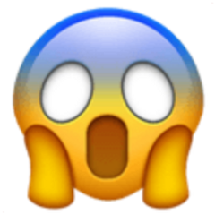 iphoneemoji emojiiphone emoji fear fearemoji freetoedit