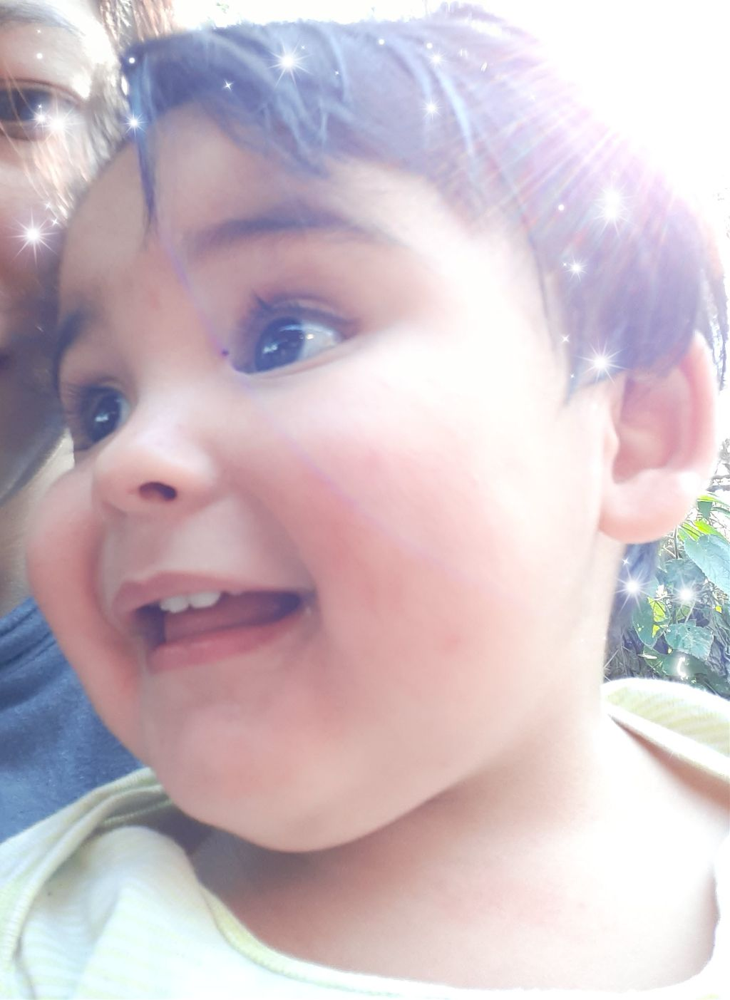 Ojalá siempre pueda verte sonreír #bebito