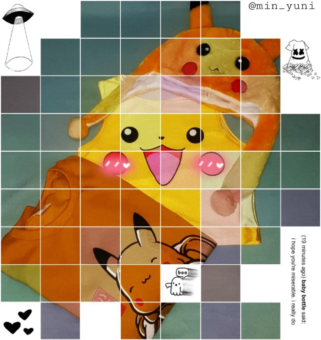 #freetoedit #pikachuuuuuu #pokemon #colorful #square #kawaii #crazyedit