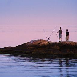 freetoedit atlanticocean goldenhours rock fisherboys