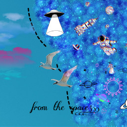 freetoedit comingfromthespace spavestickers plslikeit spacebirds