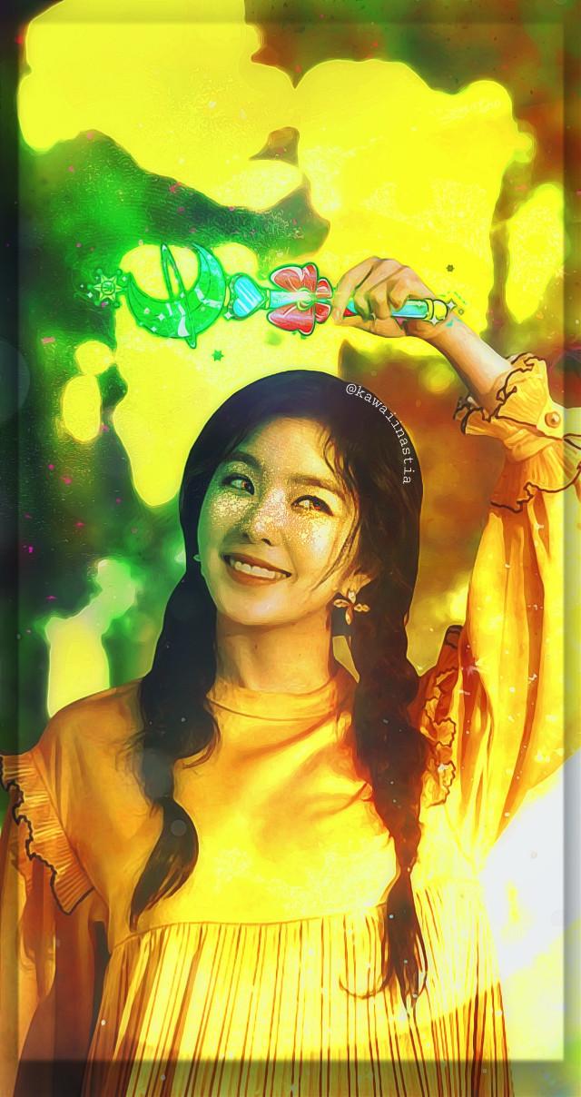 🔥💚🌛🔥💚🔥 .  .  .  .  .  .  .  #freetoedit #redvelvet #rv #irene #edit #edits #idol #kpopidol #kpop #wallpaper #lockscreen #yellow #green