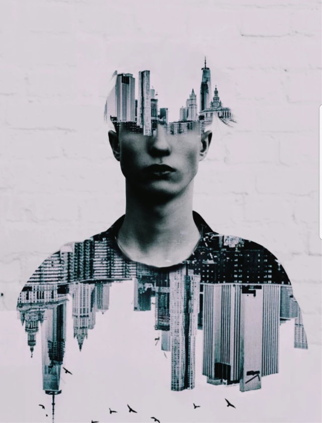 Learn to make 3 double exposure edits to WOW your followers 🔗 bit.ly/DoubleExpo Edit by @dtsdk #doubleexposure #surreal #cityscape #surreality #freetoedit