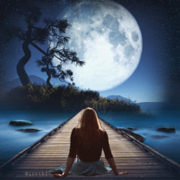 freetoedit moon bridge mooneclipse ircendlessjourney