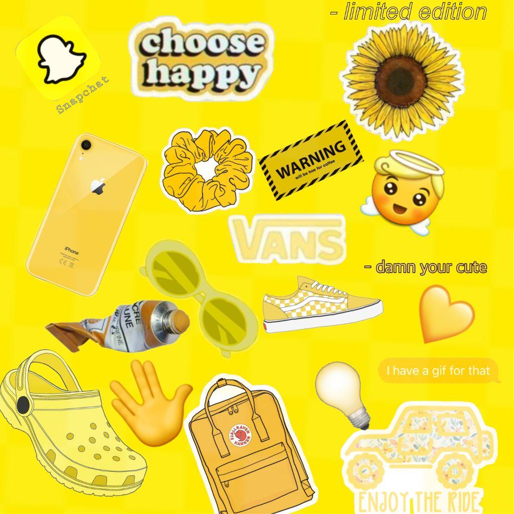 Freetoedit Aesthetic Vsco Yellow Background Momio
