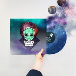 freetoedit galaxy universe alien ircvinyl