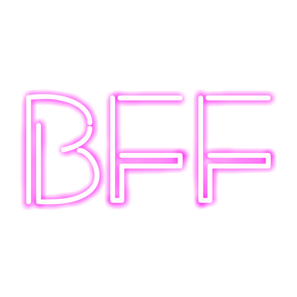 #pink #bff #neon
