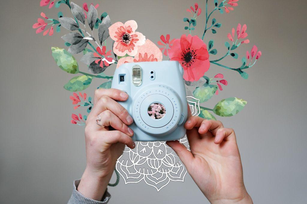 #freetoedit #flowers #camera