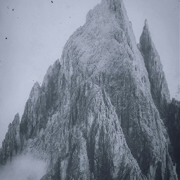 freetoedit mountain peak mountains peaks sky ciel cliff cliffs darkness light landscapes photography outdoors earth vegetation grass leaf shade leaves winter shadow shadows view vista blackandwhite nature outdoors outdoor natural photo photographer photograph pic photos picsart instagram pics