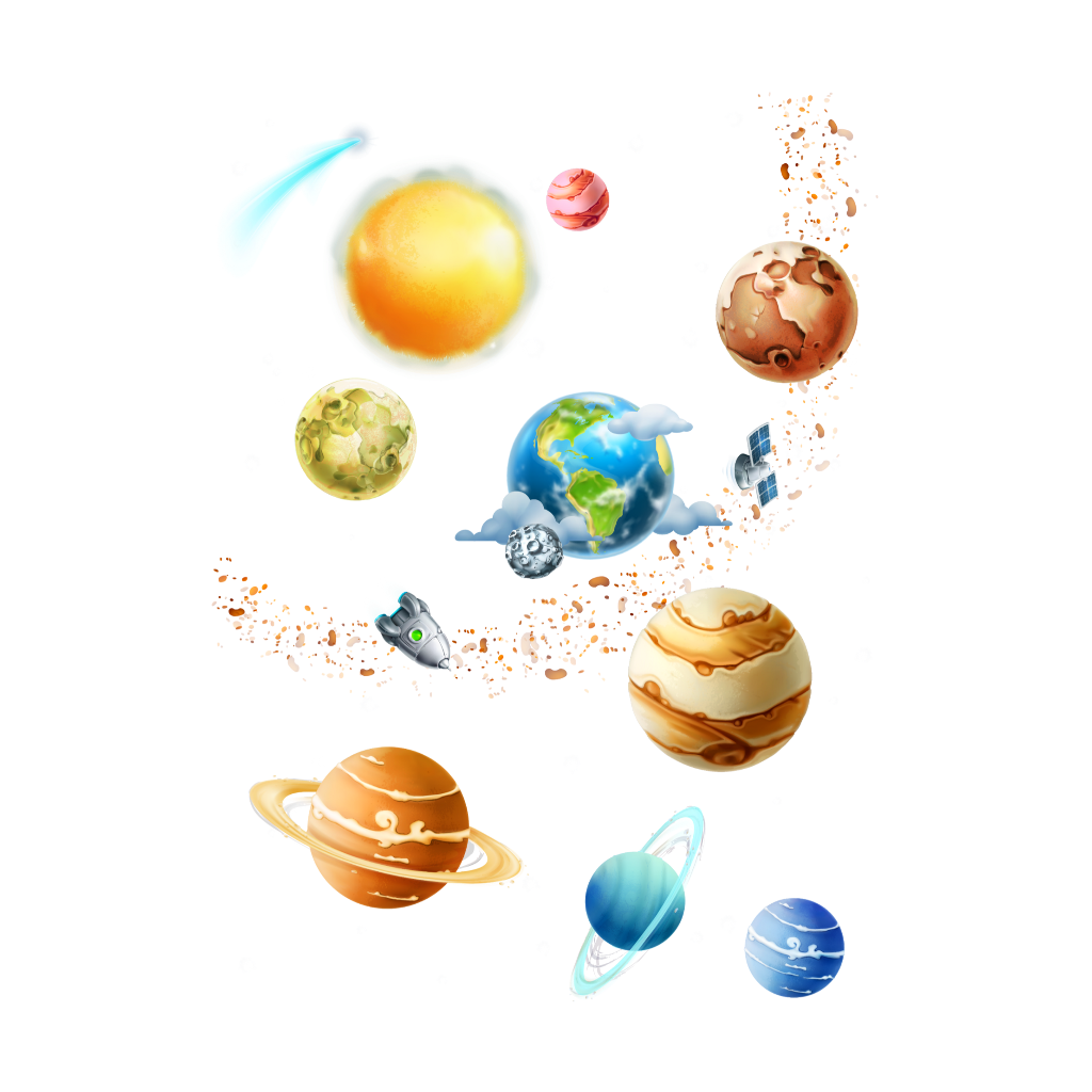 #freetoedit #colorful #planets