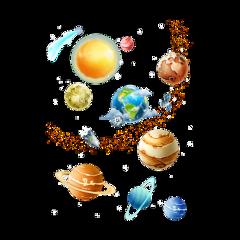 freetoedit colorful planets