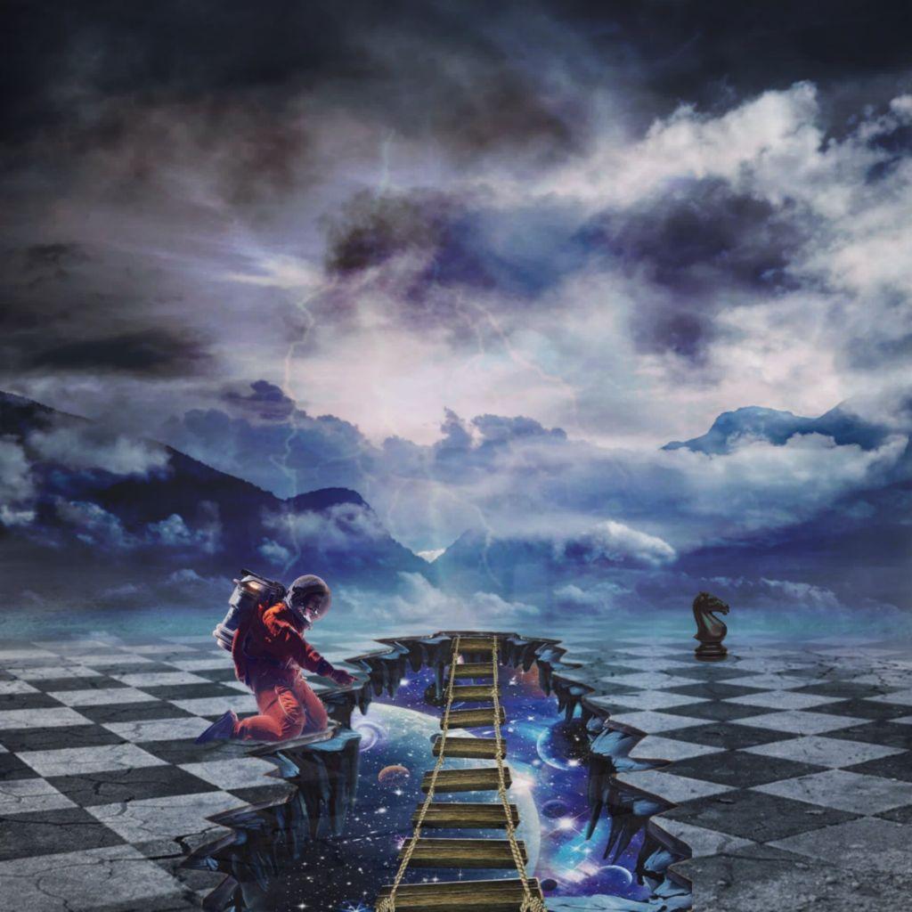 #freetoedit  #imagination  #astronaut  #galaxy  #space  #sky  #universe  #plants  #chess