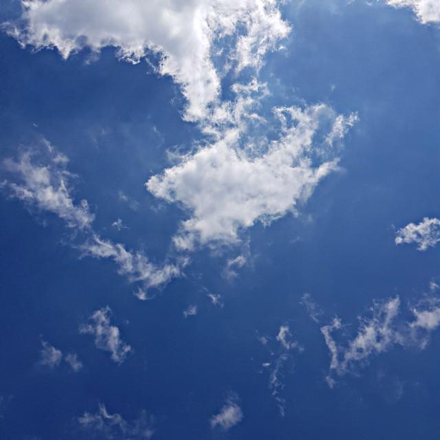 .   #korea #sky #blue #cloud