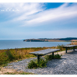 landscape nature bench balticsea ostsee freetoedit