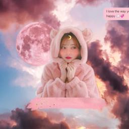 freetoedit girl pink pinkaesthetic cute ecintheclouds