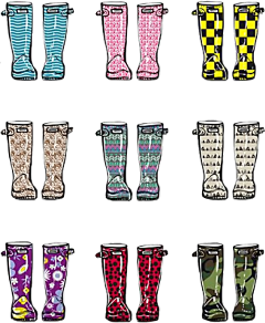rainboots wellies wellie welliesfamily hunter freetoedit