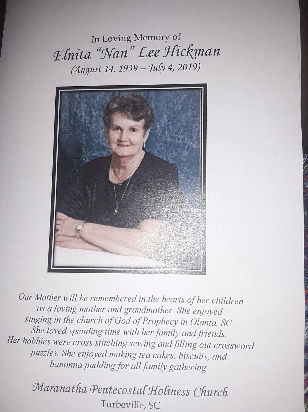 I'm miss you grandma