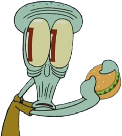 squidward lulamolusco bobesponja meme memes freetoedit