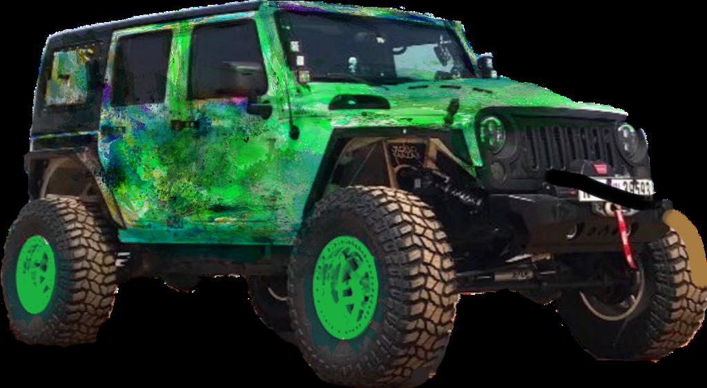 #jeep #neon #green