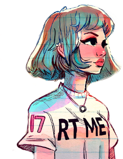 tumblr girl stikers coloring freetoedit