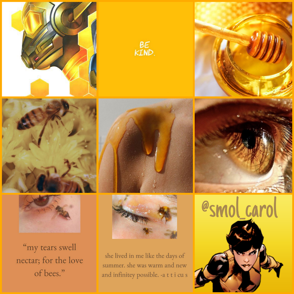 I like my women like I like my honey Sweet a little bit selfish  #hopevandyne #evangelinelilly #mcu #marvel #honey #honeyaesthetic #yellow #yellowaesthetic #moodboard #wasp #antmanandwasp #antmanandthewasp