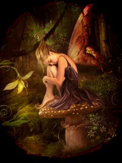 ftestickers fantasyart forest elf fairy freetoedit