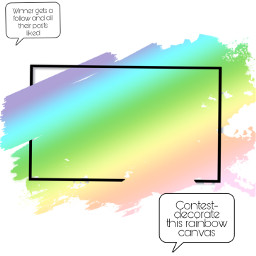 contest follow likes rainbow compete freetoedit
