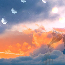 freetoedit picsart beautiful sky stars