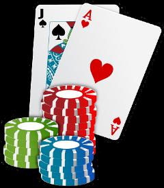 poker cards chips game freetoedit