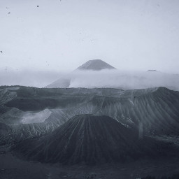 freetoedit volcano asia mountains plants