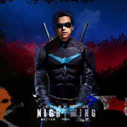 freetoedit nightwing batman slade deathstroke