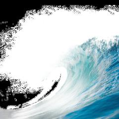 ftestickers water sea ocean wave freetoedit