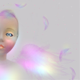 freetoedit ethereal being pastels myedit  thank