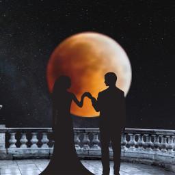 freetoedit summer couple lune amour ircthemoonabove