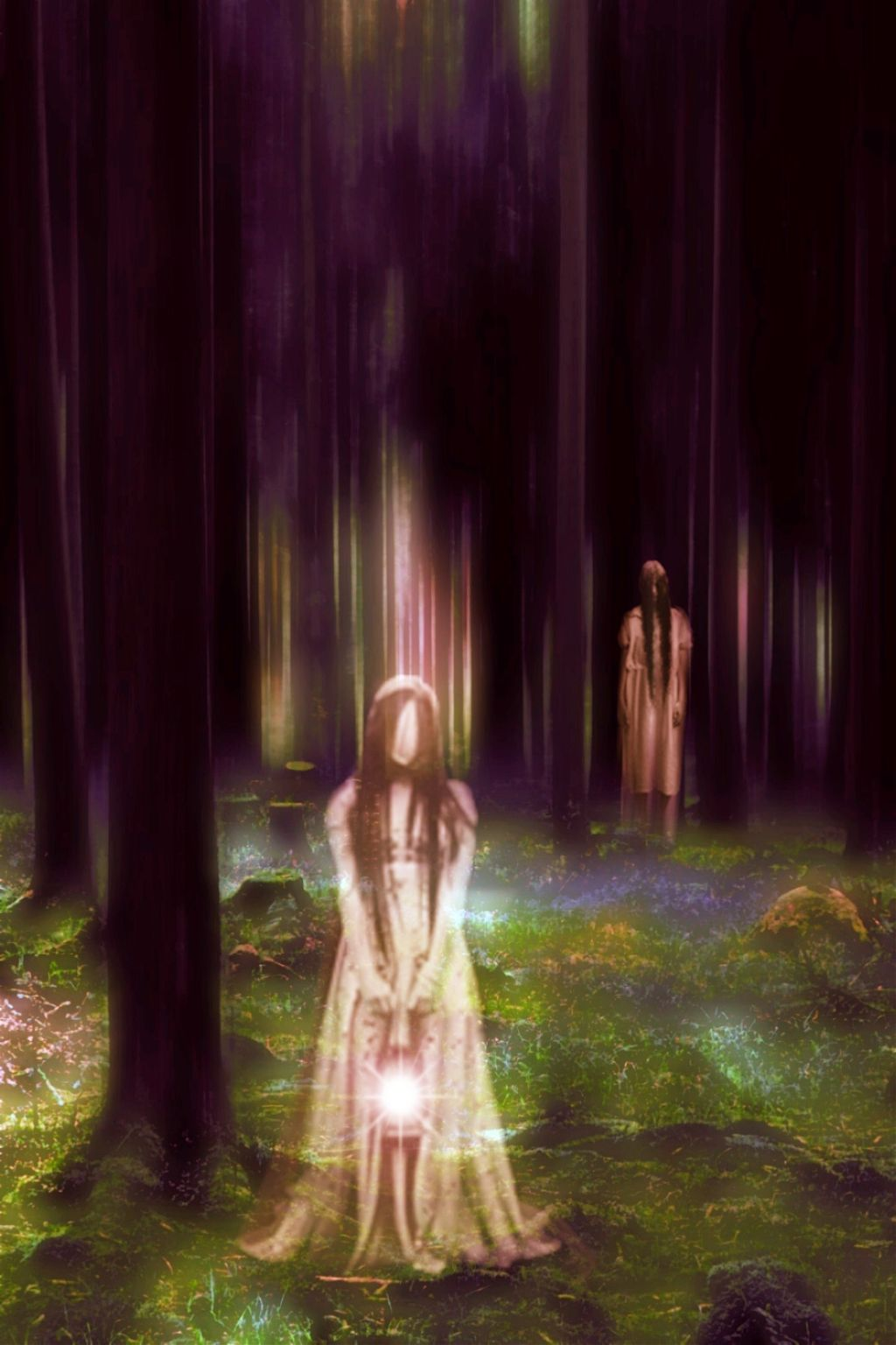 Original image from @an-dani gallery #vipshoutout #motiontool #surreal #ghost #forest #blureffect #madewithpicsart