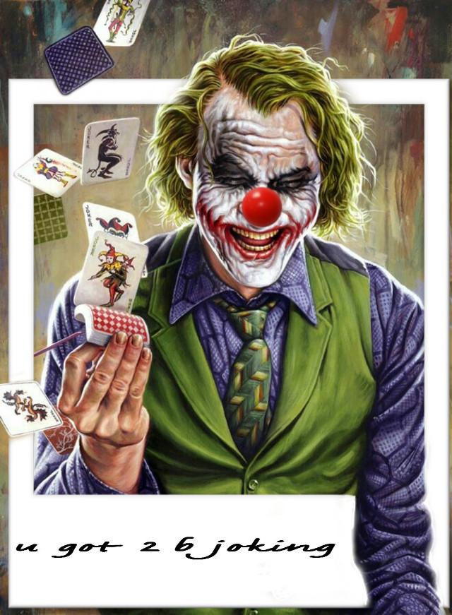 #freetoedit  #srcretroframe #retroframe #joker #jahaha #jokercard #52pickup