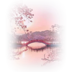 freetoedit ftestickers landscape lake bridge
