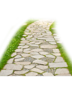 ftestickers road path pathway stone freetoedit