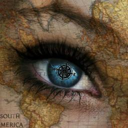 traveltheworld eye eyelashextension freetoedit