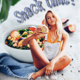 freetoedit myedit healthyeating healthyfood poster ircsnacktime