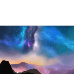 ftestickers nature landscape mountains northernlights freetoedit