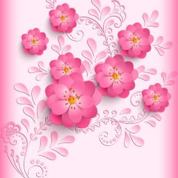 freetoedit flowers floralpattern decorative papercut