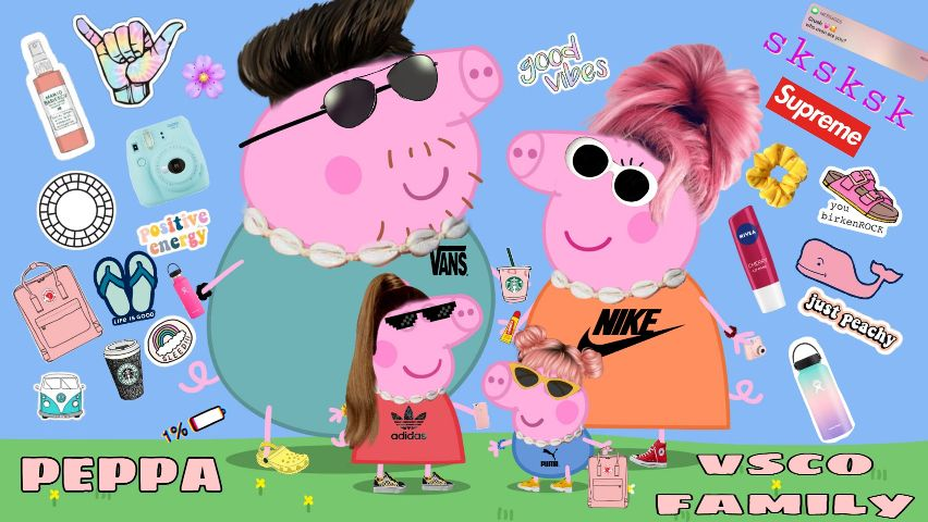 Largest Collection Of Free To Edit Peppa Pig Images On Picsart