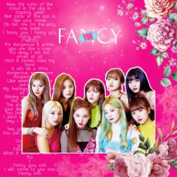 twice fancy ifancyyou pink flowers freetoedit