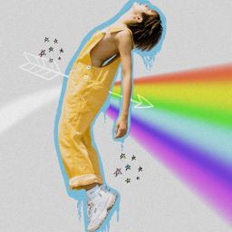 freetoedit boy rainbow lover spectrum