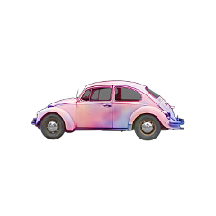 car pastel vwbug bug vw freetoedit